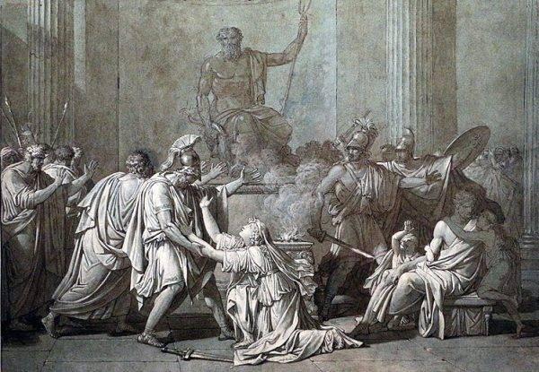 Jednym z poległych był Leonidas. Jego straż ciasno otoczyła zwłoki, zamierzając pozostać przy nich do końca.