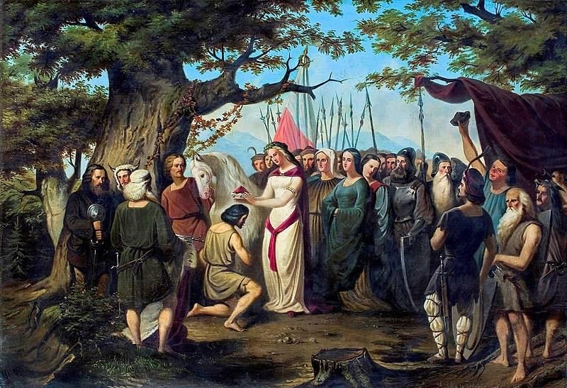 Chociaż złośliwcy wytykali czeskiej księżniczce zaawansowany wiek i bezwstydne prowadzenie się, to jednak potrafiła skutecznie zawrócić w głowie naszemu władcy.