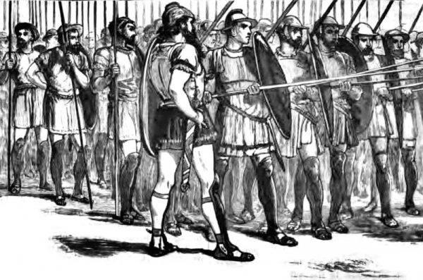 Falanga jako formacja wojskowa wyodrębniła się w Grecji w VIII wieku p.n.e. W jej szeregi przyjmowano jedynie elitę greckich miast-państw