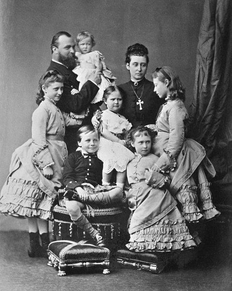 Ludwik IV heski z rodziną