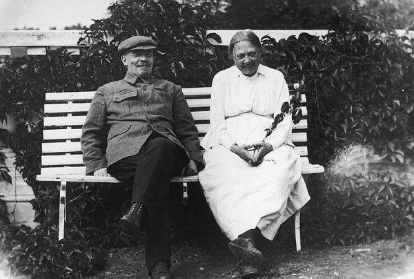 Lenin i Nadieżda Krupska