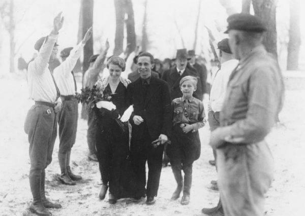 """Johanna Maria Magdalena, zwana """"Magdą"""", została panią Goebbels w roku 1931."""