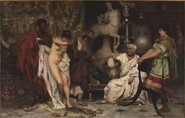 W starożytnym Rzymie człowieka stanu niewolnego nazywano servus a nie nie sclavus
