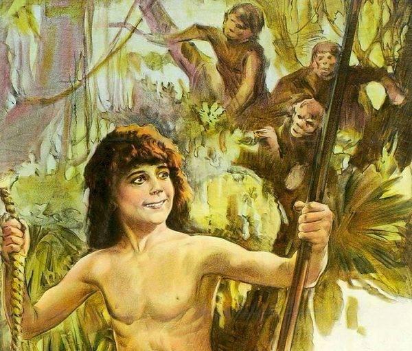 Tarzan jest postacią fikcyjną, ale historia zna wiele przypadków ludzi dorastających wśród zwierząt. Niestety rzadko kończyło się to happy endem...