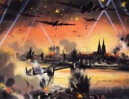 W 1943 roku naloty bombowe na III Rzeszę stawały się coraz bardziej intensywne, jednak związane z nimi straty były nie do przełknięcia dla aliantów.