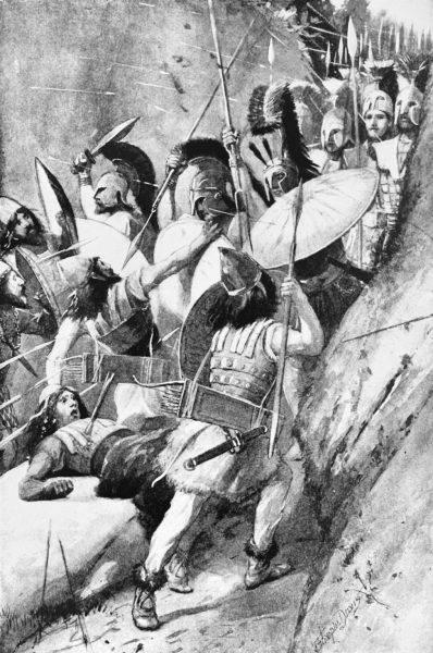 Bitwa pod Termopilami jest jednym z najsłynniejszych starć starożytnego świata.