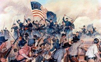 Każdy żołnierz Unii, który słyszał okrzyk bojowy Konfederacji, znany jako rebel yell, i powiedział, że się go nie przestraszył, prawdopodobnie nigdy go nie słyszał