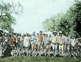 Jeńcy z plemienia Herero
