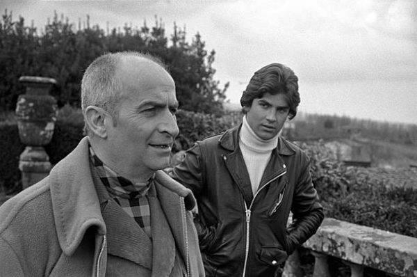 De Funès z synem Olivierem