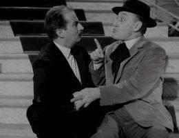 Louis de Funès i Totò w scenie z filmu Toto w Madrycie
