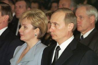 Ludmiła i Władimir Putinowie w 2002 roku