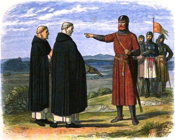 William Wallace odrzuca propozycję angielskich posłów