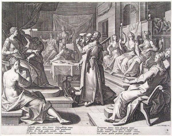 """Obcy Rzymianom kult to jednak mniej istotna sprawa w obliczu faktu, że Heliogabal wytyczał własne """"standardy"""" obyczajowe w mieście, które i tak nie słynęło z pruderii."""