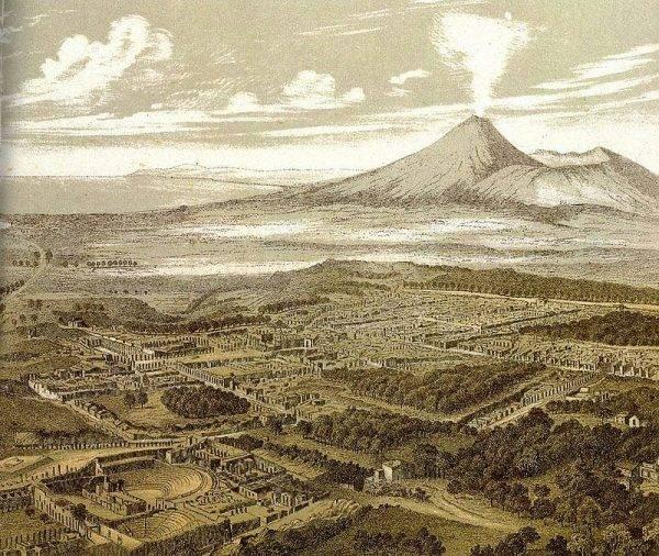 Pompeje znaczne straty poniosły już 5 lutego 62 roku n.e. wskutek trzęsienia ziemi.