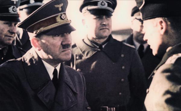 Był załamany tym, że alianci otaczają Rzeszę z każdej flanki, a on nie mógł nic z tym zrobić. Nie chciał jednak okazywać słabości