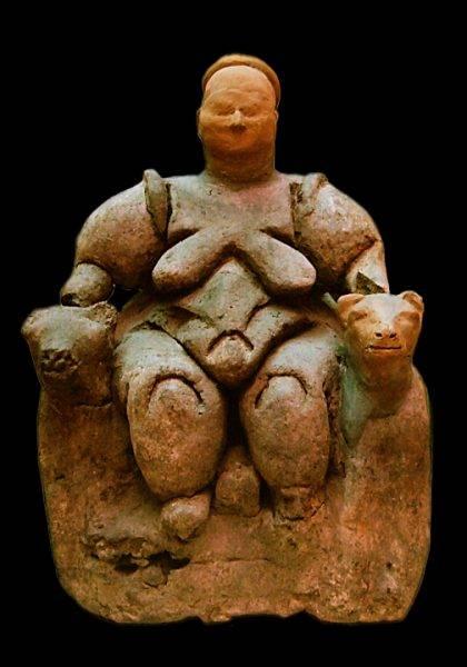 Do niedawna jeszcze sądzono, że w mieście dachów panował matriarchat, a głównym bóstwem była bogini-matka.