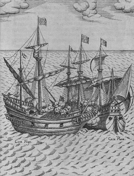 Drake nie zastanawiał się ani chwili. Wyruszył w pościg, by po kilku tygodniach, 1 marca 1579 roku dogonić hiszpański 120-tonowy galeon Nuestra Señora de la Concepción