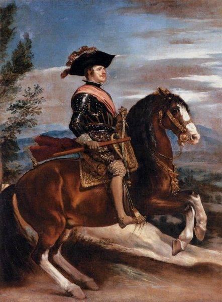 Podczas pobytu w Madrycie została ciepło przyjęta na dworze króla Filipa IV, który w swojej szczodrości przyznał jej pensję w wysokości 800 koron rocznie.