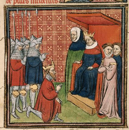 Edward I zaproponował kilku pretendentów do tronu. Ostatecznie objął go Jan Balliol, człowiek wielce oddany i podporządkowany władcy Anglii.