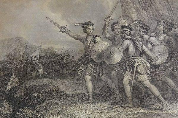William Wallace uznał władzę króla Jana, a w zasługi za wyparcie sił angielskich został pasowany na rycerza