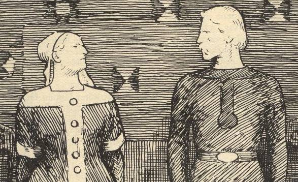"""Jak zmarła Sygryda – tego nie wiemy, ale na pewno nie na stosie i nie """"za mężem"""". Po śmierci Widłobrodego żyła jeszcze co najmniej kilka lat."""