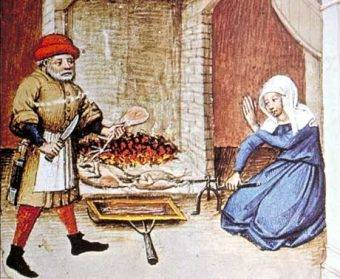W średniowieczu ludzie często głodowali
