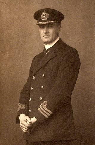 Reginald Plunkett-Ernle-Erle-Drax w 1918 roku