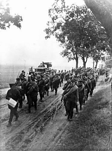 Oddziały Armii Czerwonej w czasie agresji na Polskę