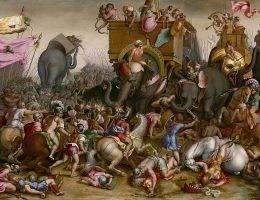 Bitwa pod Zamą – 19 października 202 roku p.n.e. Ostatnia walka Hannibala
