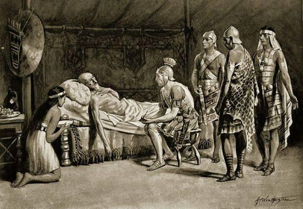 """Kartagina miała zwrócić królowi Massinissie """"domy, ziemie, miasta i wszystko, co należało do Massinissy lub jego przodków w obrębie granic, jakie zostaną określone""""."""