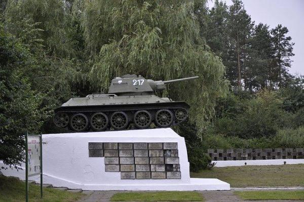 Pomnik poległych w bitwie pod Studziankami