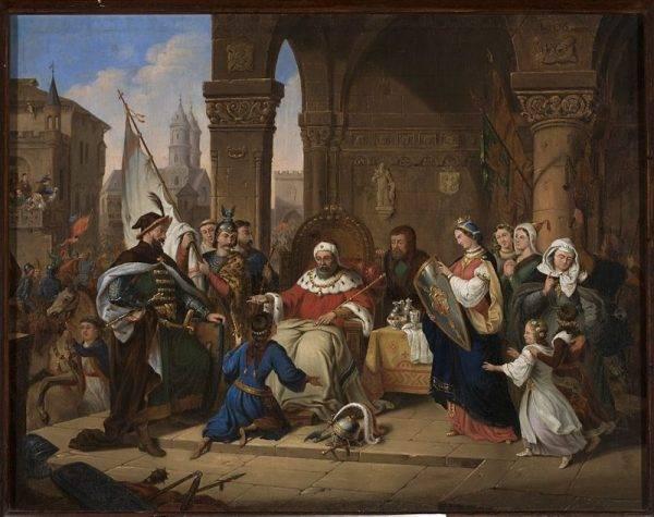 Bolesław Krzywousty skierował swych wojów na północ tuż po przejęciu władzy w swej dzielnicy, po wygnaniu palatyna Sieciecha. Miał zaledwie 16 lat, gdy poprowadził pierwszą zwycięską wyprawę przeciw Pomorzanom.