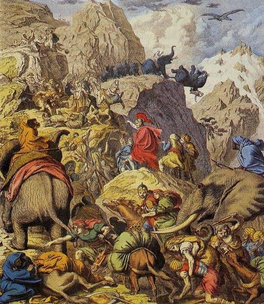 Druga wojna punicka przebiegła w dużo bardziej dramatycznych okolicznościach, zakończyła się jednak zwycięstwem Rzymu.